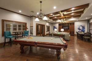 One Bedroom Apartments for Rent in Northwest Houston, TX - Clubhouse Pool Table (2)